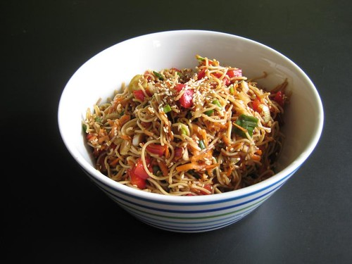 Mel's cold noodle salad