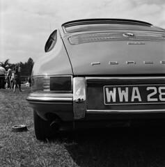 912 (Gabo Barreto) Tags: uk england 120 6x6 tlr car mediumformat classiccar 912 yorkshire leeds porsche harewoodhouse twinlensreflex gabo barreto harewood c41 chromogenicfilm gabobarreto