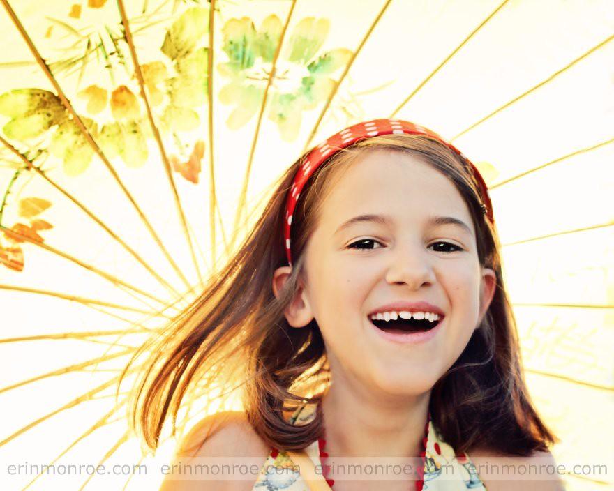 backlit parasol