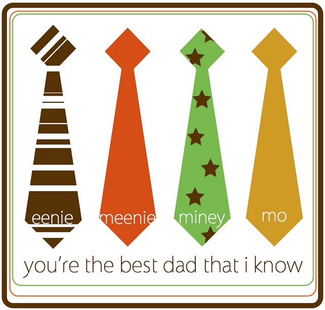 Father's Day Card - Neck Tie