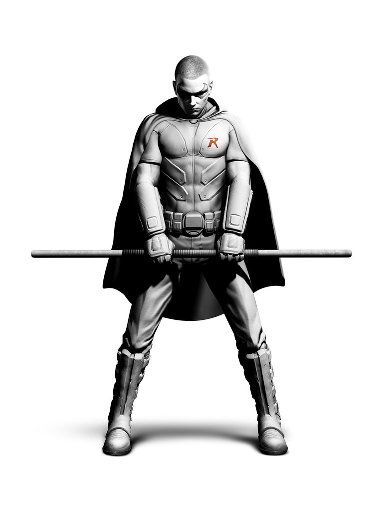 Batman: Arkham City - Robin revealed