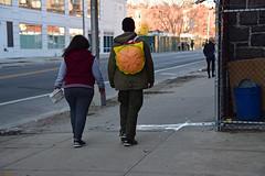 Cheesburger Backpack (thoth1618) Tags: ny nyc newyork newyorkcity brooklyn fortgreene clintonhill cheeseburger backpack photooftheday