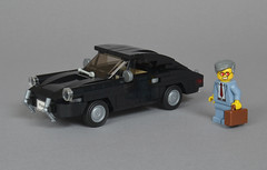 Porsche 911 Classic (mijasper) Tags: lego moc minifig minifigs porsche 911 porsche911 urmodell german classiccar oldtimer car vehicle