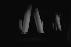Pylons 2nd Study (ROSS HONG KONG) Tags: pylon pylons poles beach sand pier la santamonica ocean losangeles ca black white blackandwhite noir monochrome blanc monochrom leica