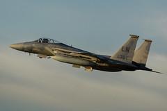 F15C 84-015 Overshooting Lakenheath CR (1 of 1) (markranger) Tags: f15c 84015 493rd reapers raf lakenheath fast sunset