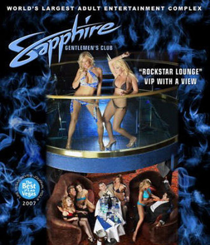 Sapphires Las Vegas. LAS VEGAS-BOOK YOURS TODAY
