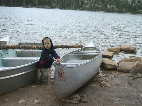 Zane Exploring Canoe