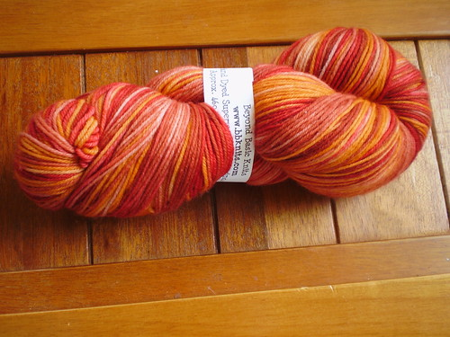 Red Ginger Sock Yarn