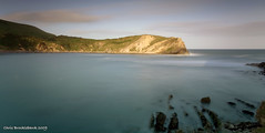 Lulworth Cove (Chris Brocklebank) Tags: uk longexposure sea cliff beach nature canon coast exposure 10 extreme 110 stop dorset nd jurassic lulworth neutral lulworthcove jurassiccoast neutraldensity canonefs1785mmf456isusm 10stop 40d nd110 anawesomeshot canon40d platinumheartaward flickrestrellas natureselegantshots