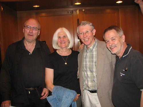 John Clute, Jeri Bishop, Michael Bishop, & Gary Wolfe