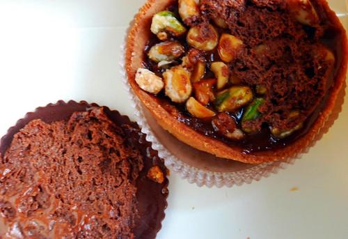 hazelnut and pistacchio caramel from Payard @ bastille day fest...