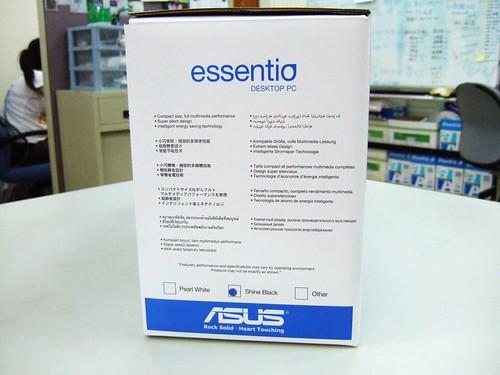 ASUS ES5100外箱側面
