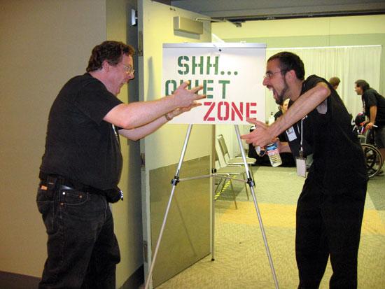 Otakon 2008 - Quiet Zone