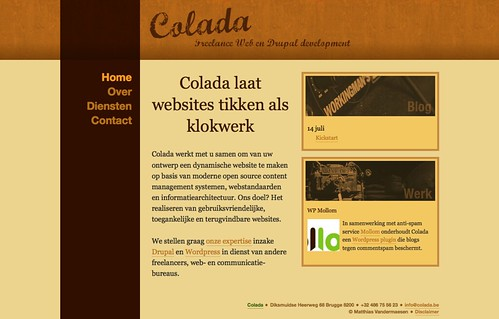 Colada. Freelance web en drupal development