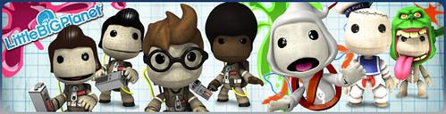 LittleBigPlanet Ghostbusters Banner