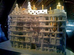Casa Mil by Gaudi in Barcelona - 48 (Johan Sderberg) Tags: gaudi casamil interrail2009