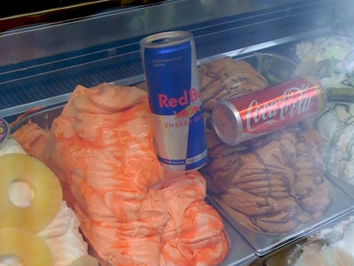 Redbull icecream