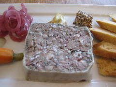 Coco500 in San Francisco - Duck liver terrine