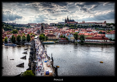 Prague Charles Bridge Panorama (szeke) Tags: river landscape prague praha praga panoramic czechrepublic charlesbridge vltava hdr karlvmost moldau photomatix eskrepublika nikcolorefex specialtouch imagenomic goldcollection karlvmost overtheexcellence qualitypixels eskrepublika daarklands
