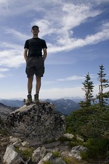 Me on the summit of Mastiff