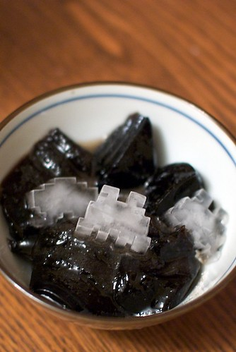 Grass Jelly + Space Invaders