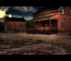 In the Desert We have Ghost Towns... (Bill Ratcliffe) Tags: sky utah zionnationalpark southernutah hdr grafton americansouthwest ghosttowns butchcassidy stgeorgeutah graftonghosttown graftonutah theoldwest utahghosttowns graftonutahghosttown ghosttownsoftheoldwest