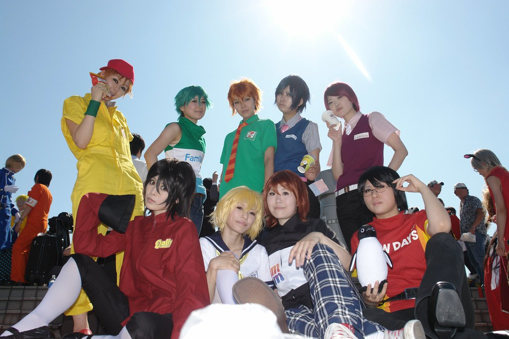 Cosplayer(s) in Comic market 76, 3rd day.