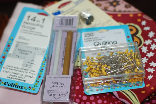 Tools for Quilting/Sewing by you.