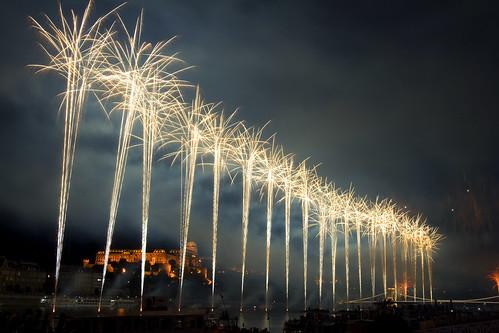 fuochi d'artificio a Budapest