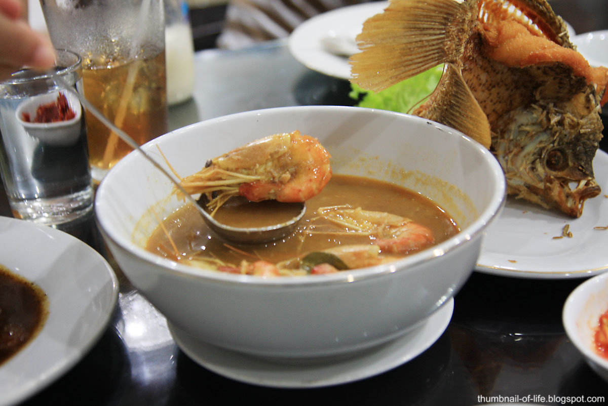 Tom Yam Sea Food