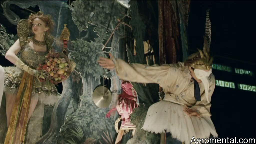 Imaginarium del Doctor Parnassus Percy Tony y Valentina función