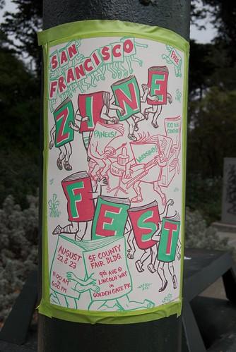 San Francisco Zine Fest 2009