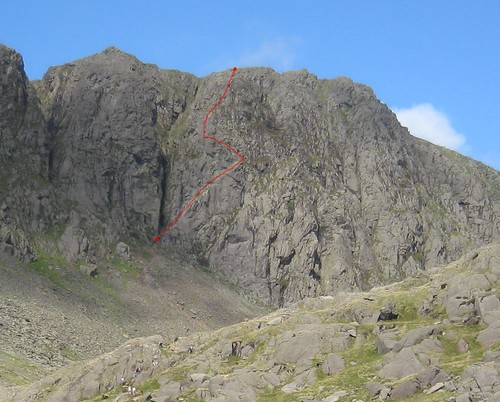 Giant's Crawl, Dow Crag