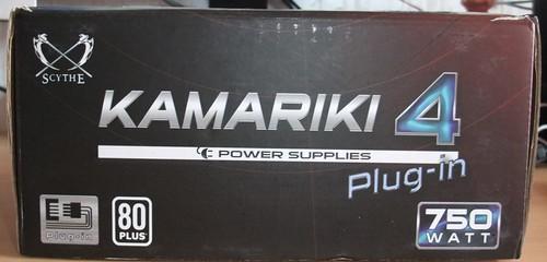 Scythe Kamariki 4 Plug in: tylus 750W PSU