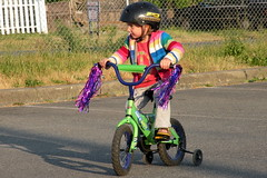 Cycling with Training Wheels