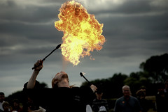 The Fire Starter...... (Nicolas Valentin) Tags: uk fire norwich fakenham pensthorpe