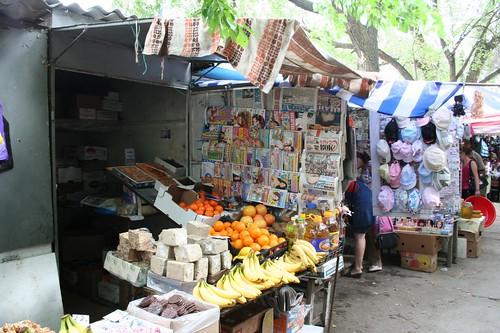 Mercado central de Comrat na Gagaúzia
