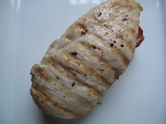 Top layer of chicken