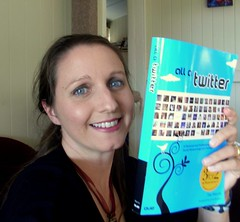 Me with Tee Morris new book All a Twitter