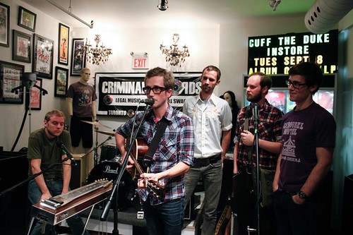 Cuff The Duke—September 8, 2009 @ Criminal Records
