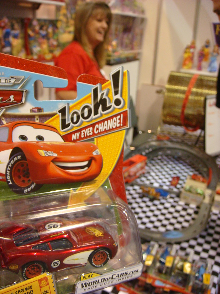 D23 Expo Cars at Mattel booth