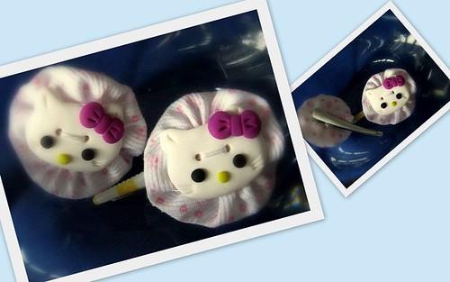 Gancho de cabelo Hello Kitty