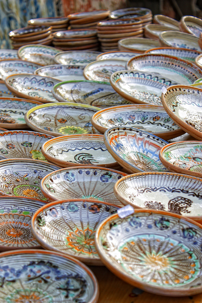 traditional plates