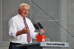 Frank-Walter Steinmeier (SPD) beim Wahlkampf-Auftritt in Bochum