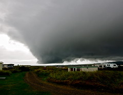 Wierd weather over the Dornoch firth (Chris Murray2) Tags: storm be there brewin