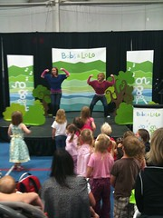 Bobs and Lolo perform at the 2009 Vancouver Island Baby Fair in Victoria