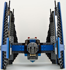 small 6206 tie fighter straight top (Big Cam crsx) Tags: starwars lego 6206