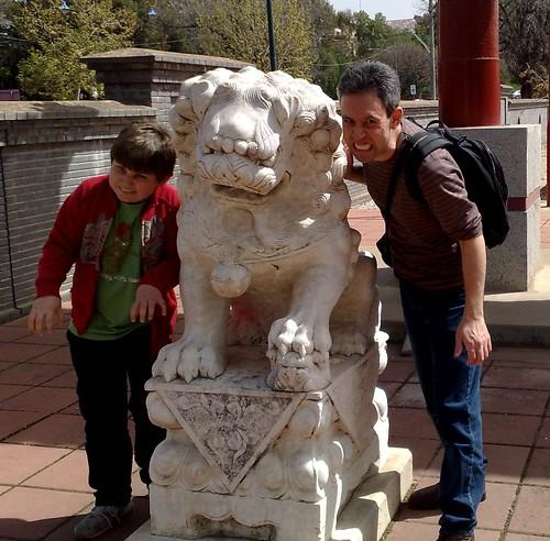 Outside the Chinese gate, Bendigo