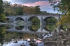 Wilson Bridge 1819 at Sunset (Andrew Aliferis) Tags: autumn fall unitedstates maryland hdr hagerstown aga hdri waterreflections stonearchbridge washingtoncounty photomatix highdynamicrangeimage conococheaguecreek silasharry andrewandyaliferis