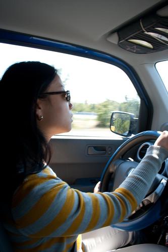 Danielle, the Tour Driver